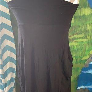 B Envied size Medium black maxi skirt